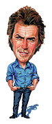 Clint Eastwood Art Paintings - Clint Eastwood by Art