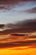 Cloudscape At Sunrise Print by Sami Sarkis