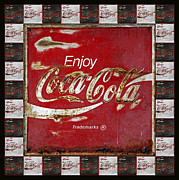 Coca-cola Sign Art - Coca Cola Signs by John Stephens