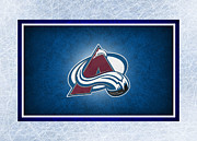 Hockey Art - Colorado Avalanche by Joe Hamilton