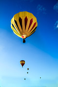 Balloon Aircraft Prints - Colorado River Crossing Print by Robert Bales