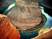 Lake Powell Prints - Colorful Bend Print by J Allen