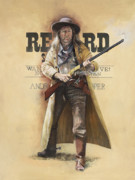 Reward Prints - Commodore Perry Owens Print by Chris Collingwood