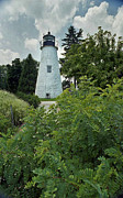 Lighthouse Pictures Prints - Concord Point Lighthouse Print by Skip Willits