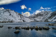 Blue Photos - Convict Lake by Cat Connor