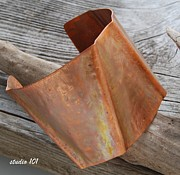Forged Jewelry - Copper Cuff by Jeni Gray