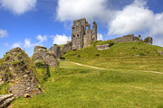 Ruin Photos - Corfe Castle by Joana Kruse