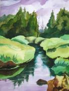 Cornucopia Wetlands Print by Steve Brumbaugh