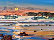 Robert Gerdes - Coronado Beach at Sunset