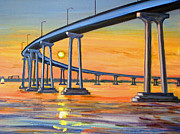 Robert Gerdes - Coronado Bridge at Sunset