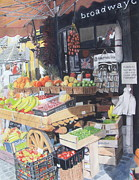 Baskets Mixed Media - Cotswold Deli by Constance Drescher