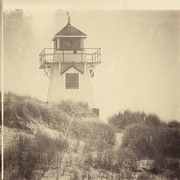 Sanddunes Photo Posters - Covehead Light Poster by Meg Lee Photography