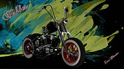 Louis Ferreira Art Digital Art - Custom Bobber by Louis Ferreira