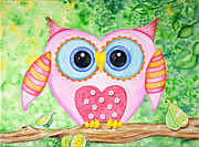Ann Troe - Cute as a Button Owl
