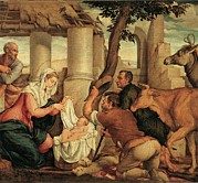 Holy Family Photos - Da Ponte Jacopo Know As Bassano by Everett