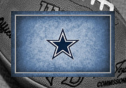 Cowboys Prints - Dallas Cowboys Print by Joe Hamilton