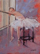 Ballet Painting Originals - Day Dreamer by Laura Lee Zanghetti