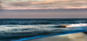 Atlantic Beaches Prints - Days End Print by Bill  Wakeley
