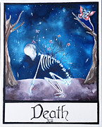 Universe Paintings - Death by Elizabeth Rodgers