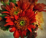 Red Flowers Digital Art - Deeply by Jessica Jenney