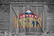 Dunk Photo Framed Prints - Denver Nuggets Framed Print by Joe Hamilton