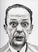 Andy Griffith Drawings - Deputy Barney Fife by Fred Larucci