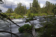 Deschutes River Prints - Deschutes River Oregon Print by Yefim Bam