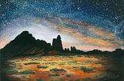 Milky Way Pastels - Desert Starlight by Jackie Novak