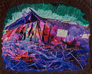 Abandoned Mixed Media - Detonation by Scott Campbell