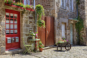 Picturesque Posters - Dinan - Brittany Poster by Joana Kruse