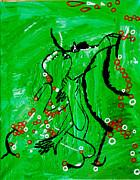 Dinka Embrace Print by Gloria Ssali