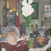 French Doors Originals - Dinner in Paris by Mj Deen