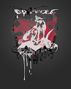 Historical Digital Art - Dire Wolf by Pop Culture Prophet