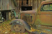 Roaring Fork Road Art - Dodge In The Country by Dan Sproul