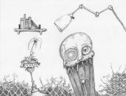 Dollskull Print by Dan Twyman