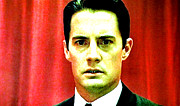 Dale Cooper Metal Prints - Dont Take The Ring Laura . . . Metal Print by Luis Ludzska