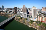 Austin 360 Bridge Photos - Downtown Austin by Bill Cobb