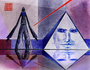 Pyramid Mixed Media - Dream Master by Hartmut Jager