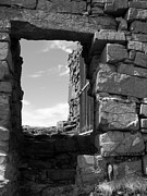 Inishmore Prints - Dun Aengus Doorway Print by Denise Mazzocco