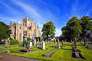 Craig Brown Art - Dunfermline Abbey Scotland by Craig Brown