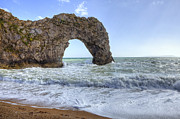 Sea Shore Framed Prints - Durdle Door Framed Print by Joana Kruse