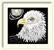 Cathy Turner - Eagle at night