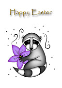 Jeanette K - Easter Raccoon