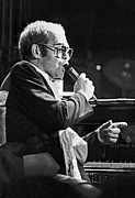 Superstar Photo Prints - Elton John Print by Frazer Ashford