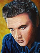 Elvis Presley Art - Elvis Presley by Christian Carrette