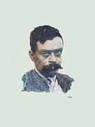 Liberty Drawings - Emiliano Zapata by Pg Reproductions