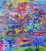 Molecule Paintings - Engineering by Regina Valluzzi