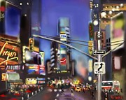 Mark Givens - Evening in NYC Edged