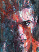 David Bowie Portrait Paintings - Fame by Paul Lovering