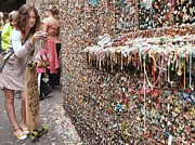 Must See Posters - Famous Seattle Gum Wall Poster by Allen Beatty